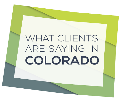 What Apex Clients are saying in Colorado