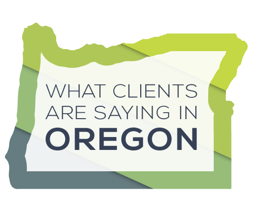 What Apex Clients are saying in Oregon